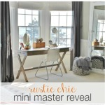Rustic Chic Mini Master Reveal-My Desk Area