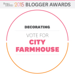 BHG 2015 Blogger Awards-I Made it