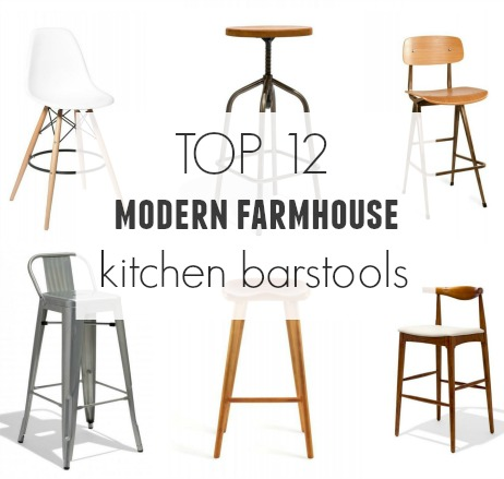 sneakers for cheap 71410 a4959 Top 12 Modern Farmhouse Barstools - City Farmhouse