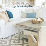 Coastal Farmhouse-Get the Look With Pillows