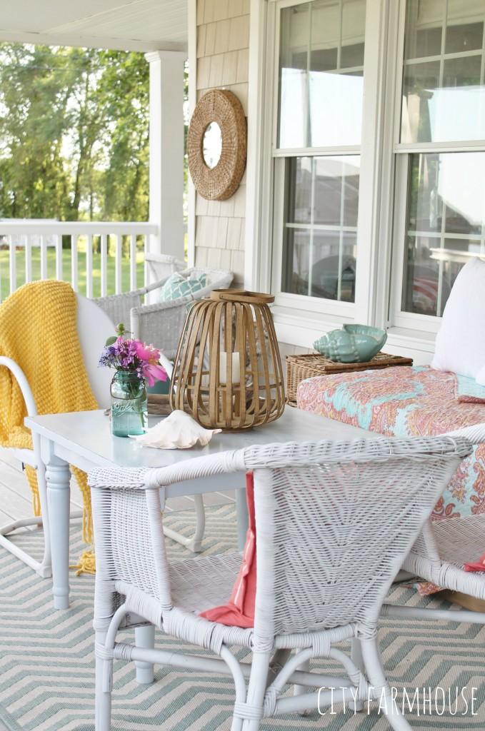Summer Tour-Farmhouse Porch-vintage with new