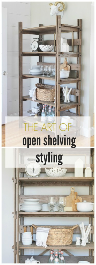Dekorationly.com Open Shelving Styling-Tips + Tricks tricks styling shelving