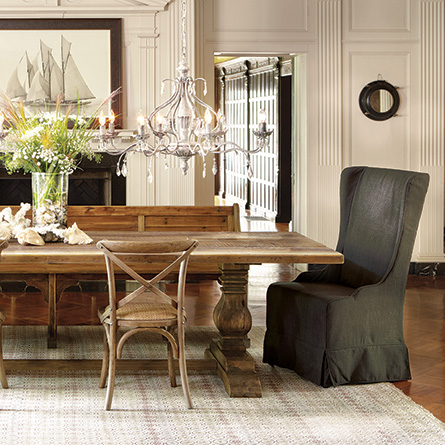 dining room chairs that fit your personal style city farmhouse. Black Bedroom Furniture Sets. Home Design Ideas
