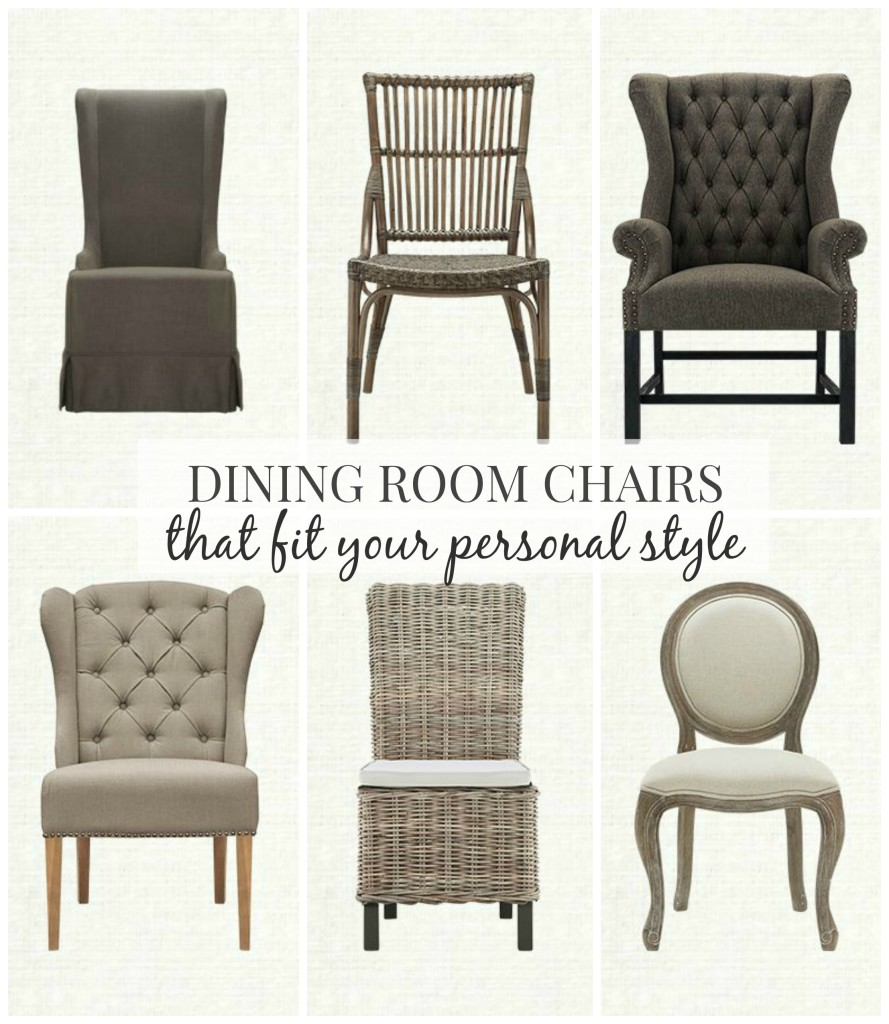 Dining room chairs that fit your personal style city for Your room furniture