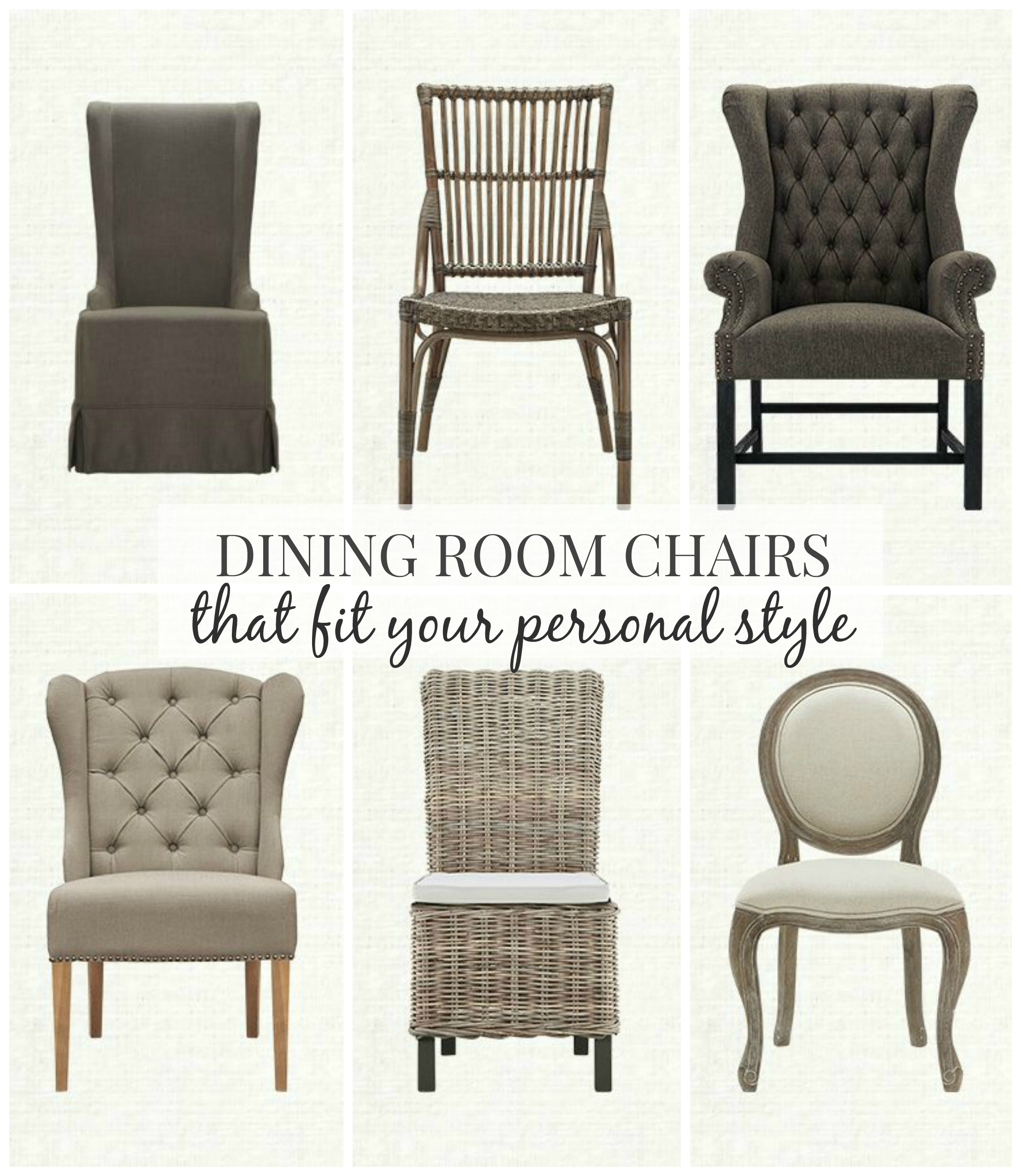 Dining Room Chairs That Fit Your Personal Style