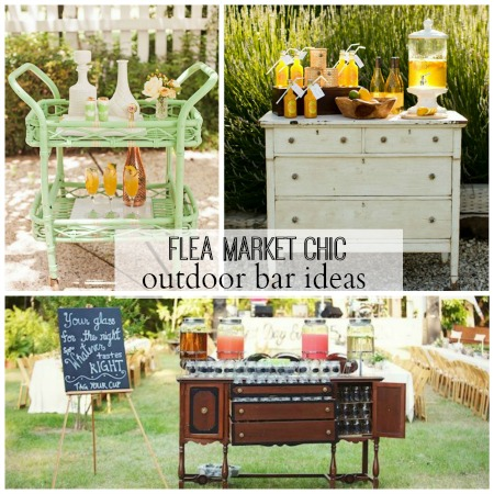 Outdoor Bar Ideas + Surprise Makeover Guest