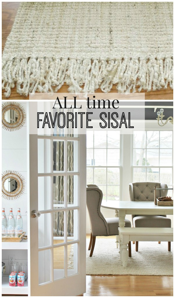 All time favorite sisal from Rugs USA- Maui Chunky Loop