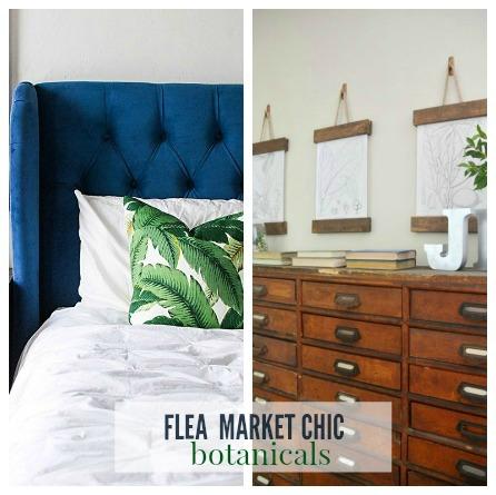 Flea Market Chic-Botanicals
