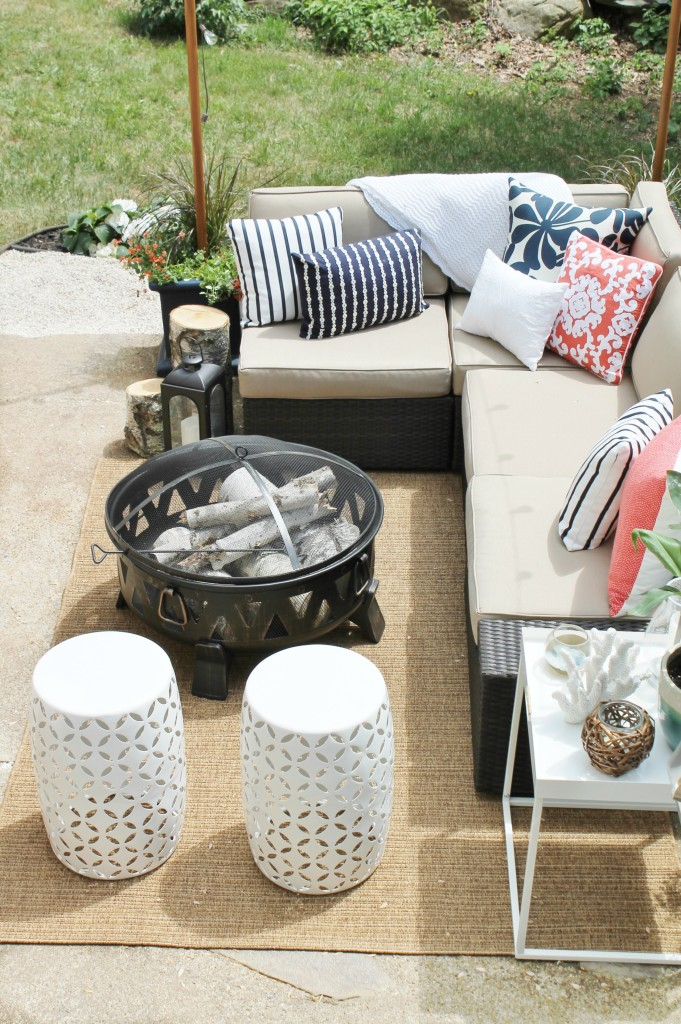 Lowe's Spring Makeover Reveal-Conversation Area