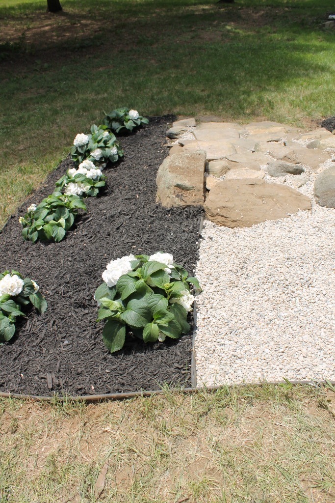 Lowe's Spring Makeover Reveal-Stone Path