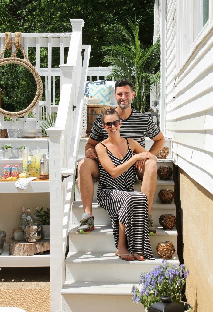 Lowe's Spring Makeover Reveal-The Happy Homeowners