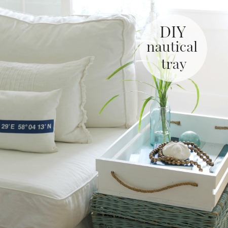 DIY Nautical Tray