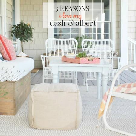 5 Reasons I Love My Dash & Albert Outdoor Rug