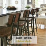 Modern Farmhouse Kitchen Barstools Revealed