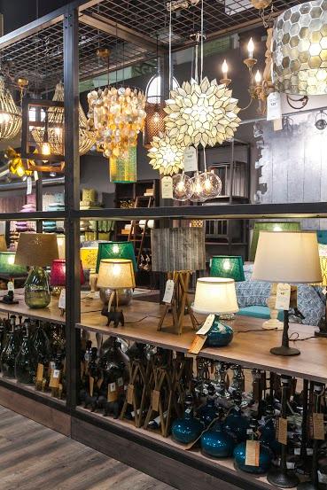 Cost Plus Worls Market NY Store LIGHTING