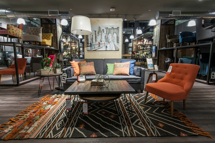 Cost Plus Worls Market NY Store-Love this modern vignette