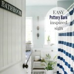 Easy Pottery Barn Inspired Sign