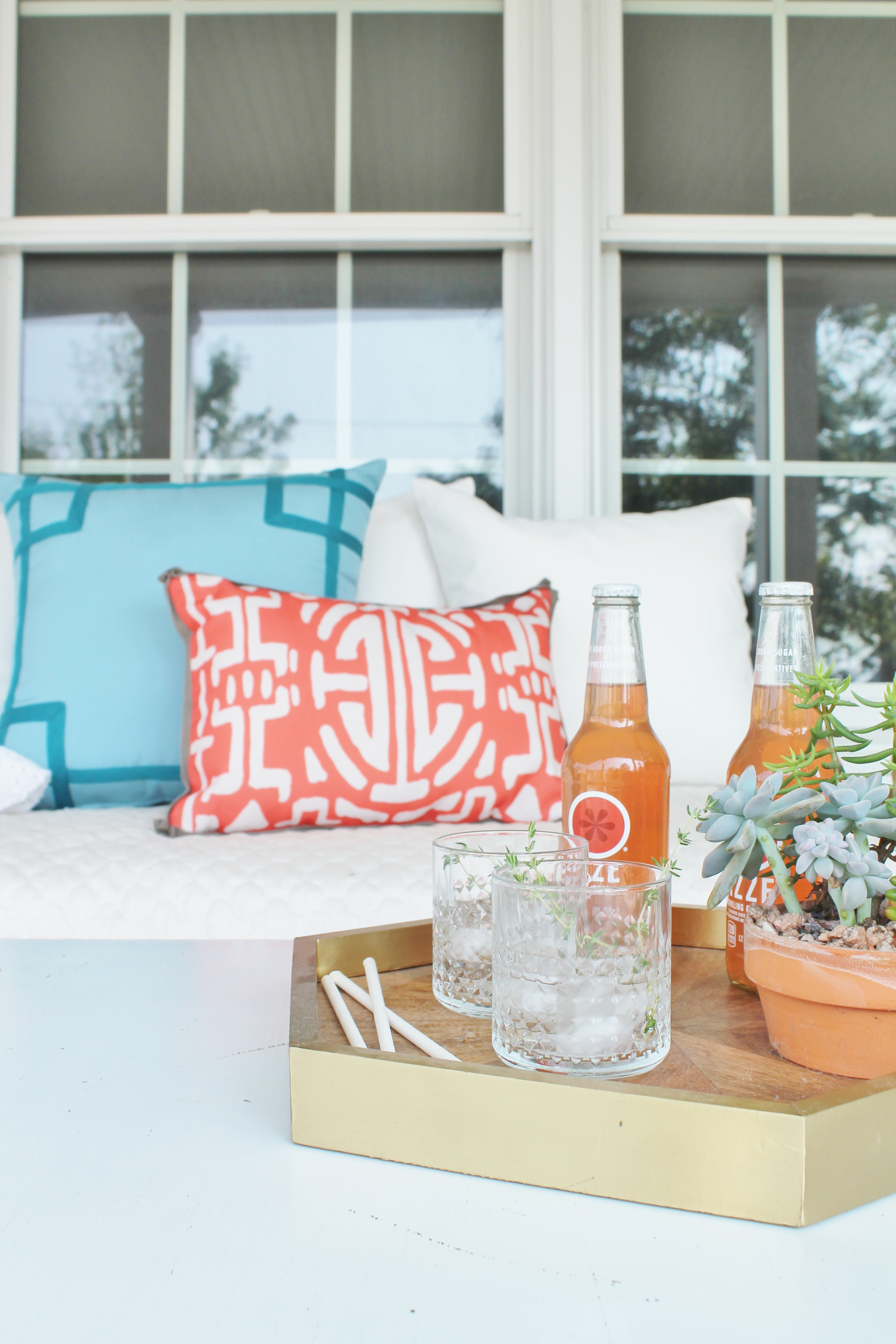 Early Fall Rustic Glam Porch City Farmhouse