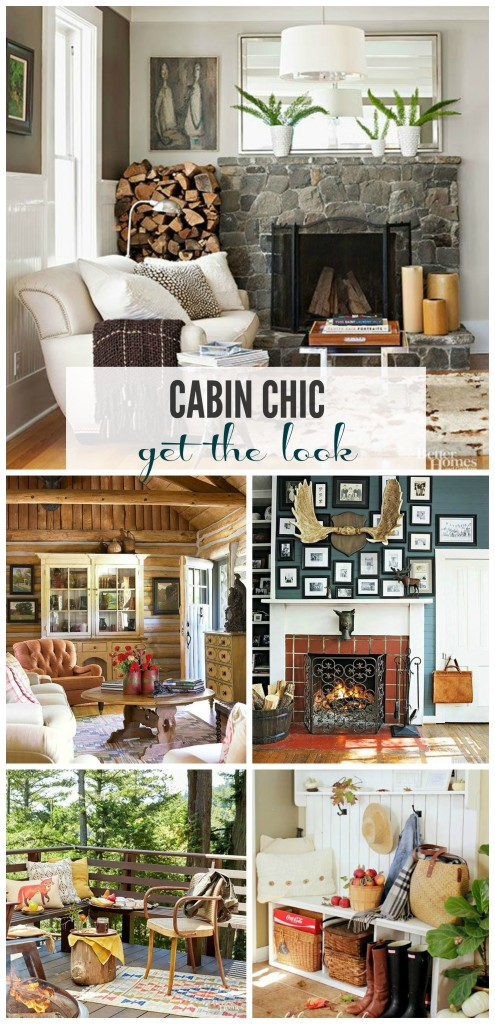 Bhg Cabin Chic Get The Look Style Spotters