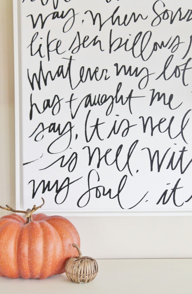 City Farmhouse Fall Tour-Lindsay Letters Sign