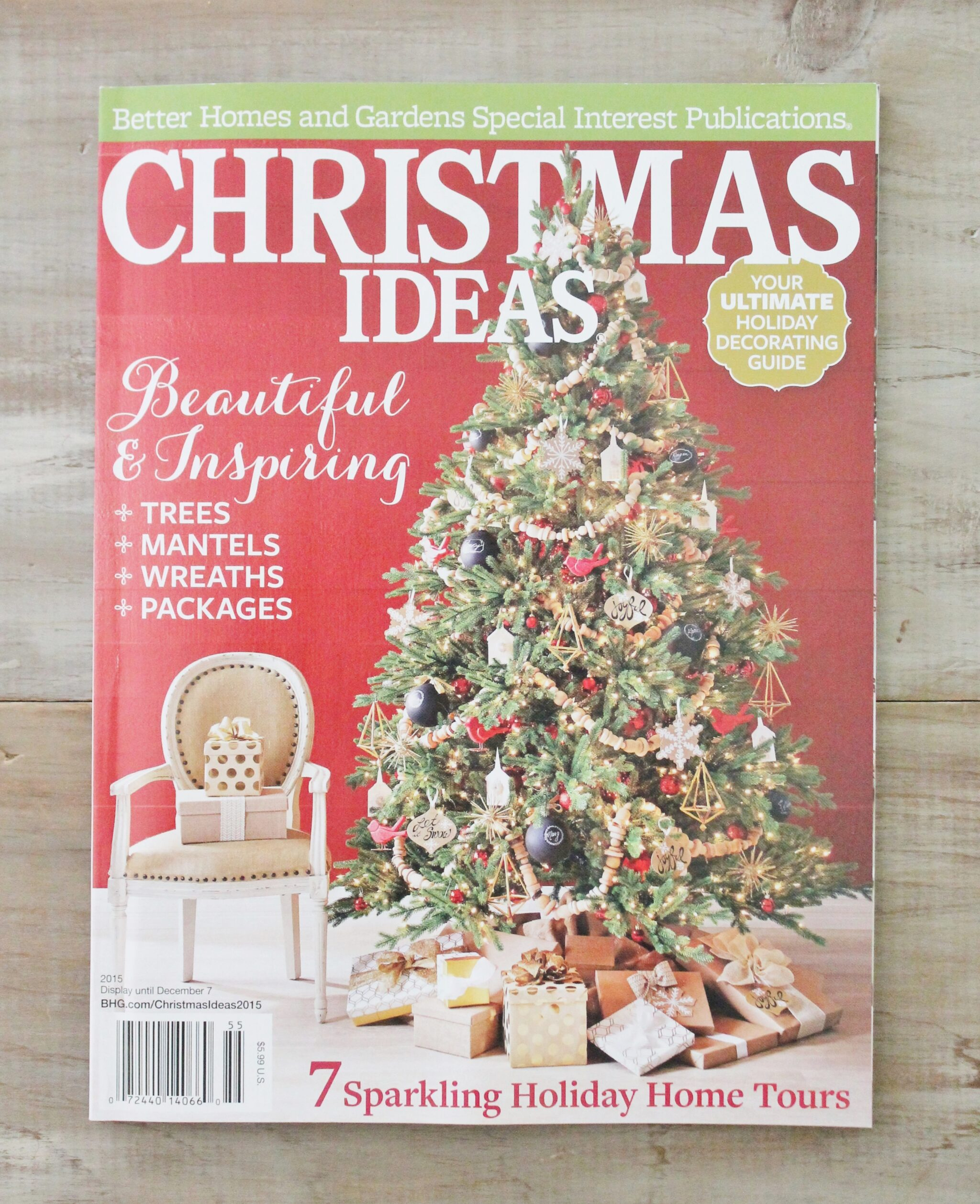 christmas home decor magazines diy christmas decorations better homes and gardens www 10578