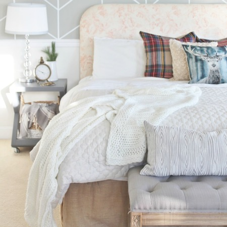 6 Ways to Use a Plaid Scarf in Your Home