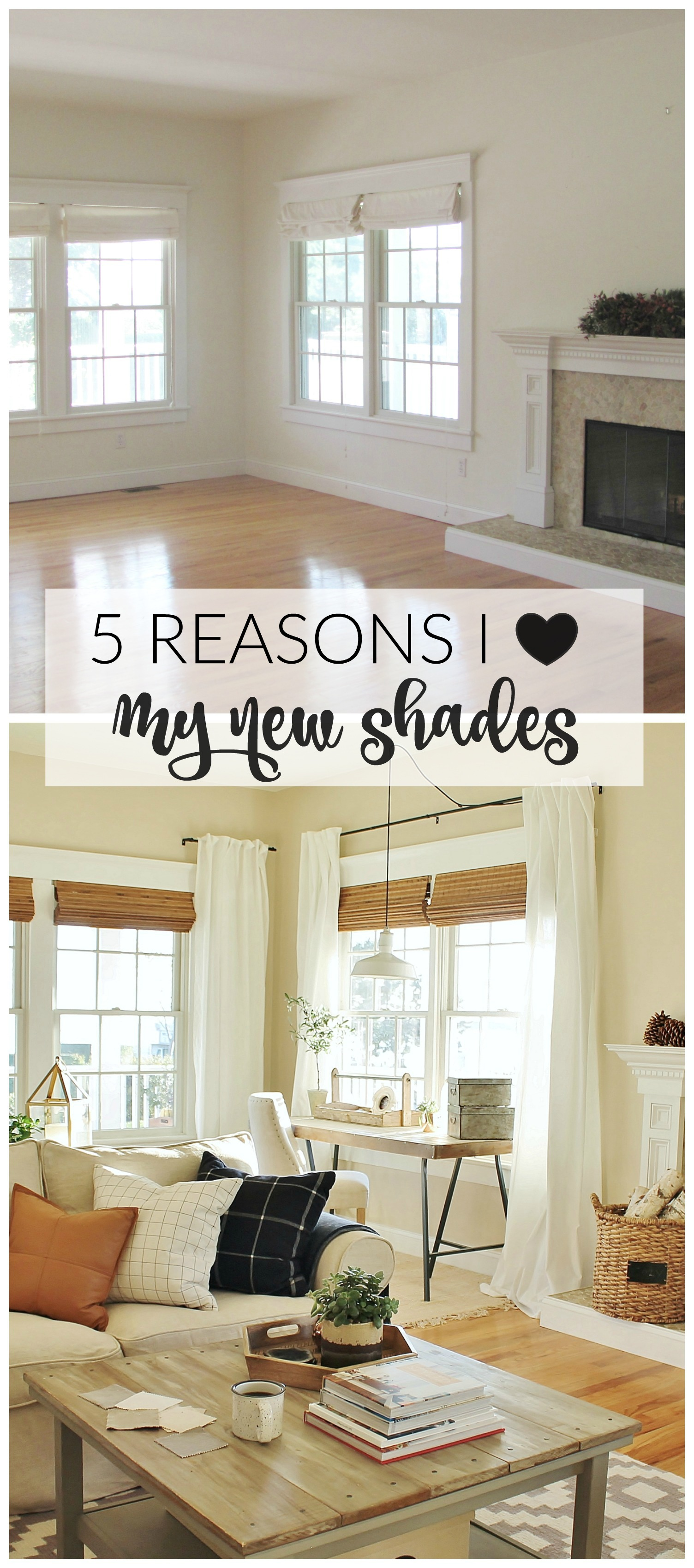 5 Reasons I Love My New Woven Shades City Farmhouse