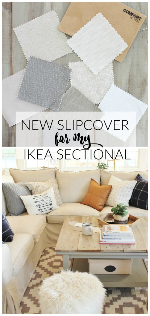 slipcover cotton armchair ikea grey blends couch nomad ektorp replacement covers slipcovers sofa en sectional