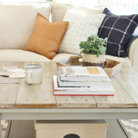 New Slipcover For My Ikea Sectional + Giveaway
