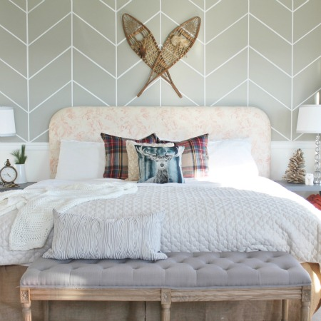 Christmas Bedroom From Last Year's BHG Shoot
