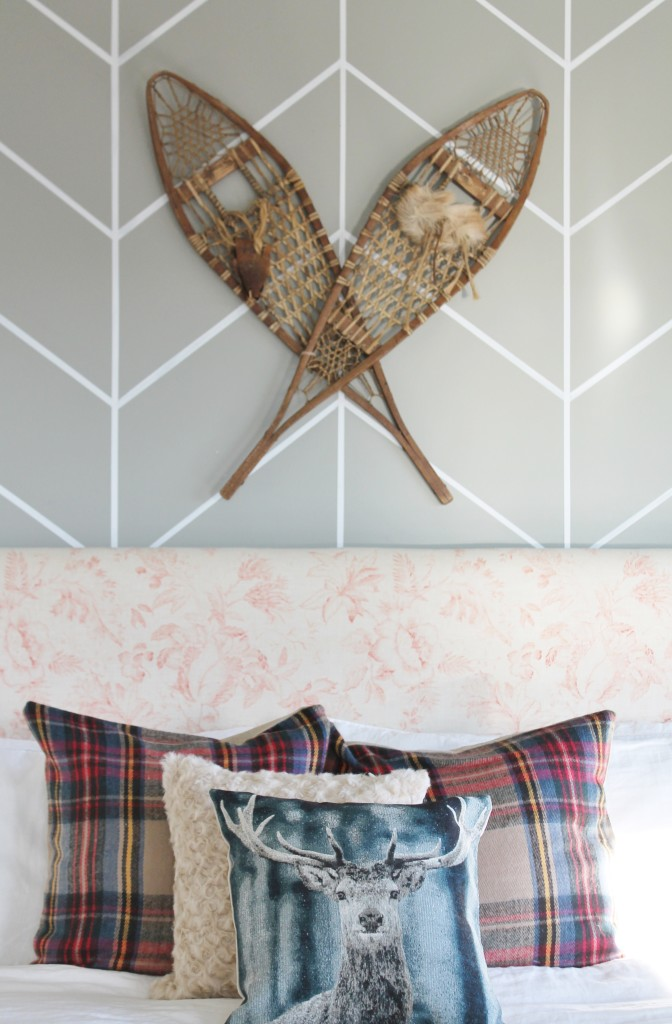 Vintage Show Shoes-Christmas Bedroom from BHG Shoot