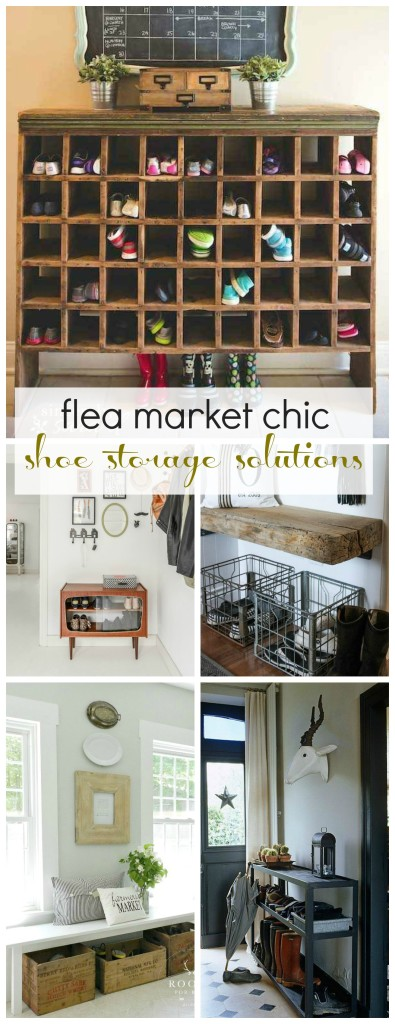 Mudroom Shoe Storage Solutions City Farmhouse