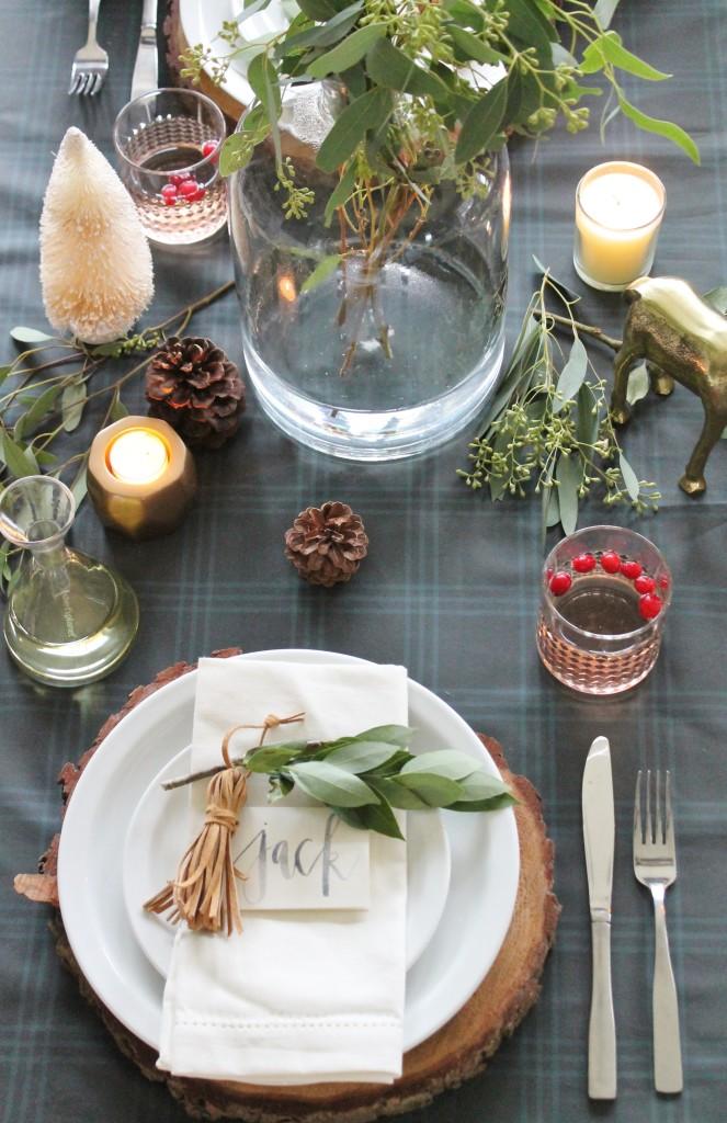 Cozy Christmas Dining Room