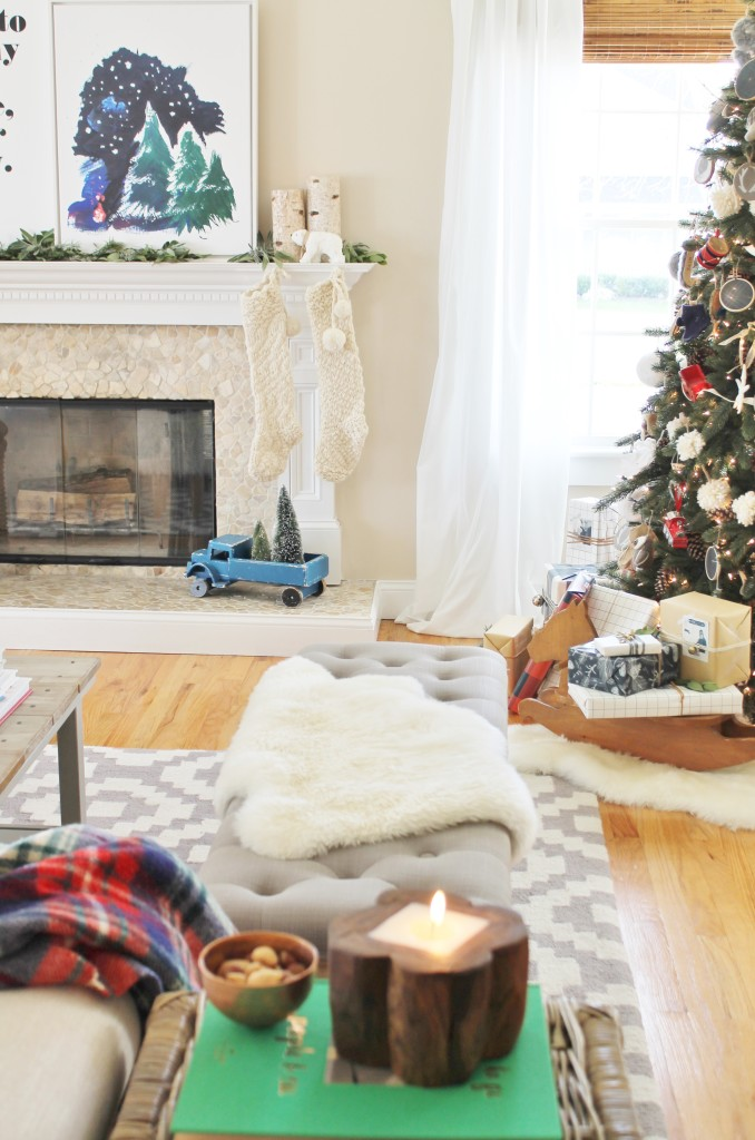 Holiday Housewalk Playful + Rustic Details