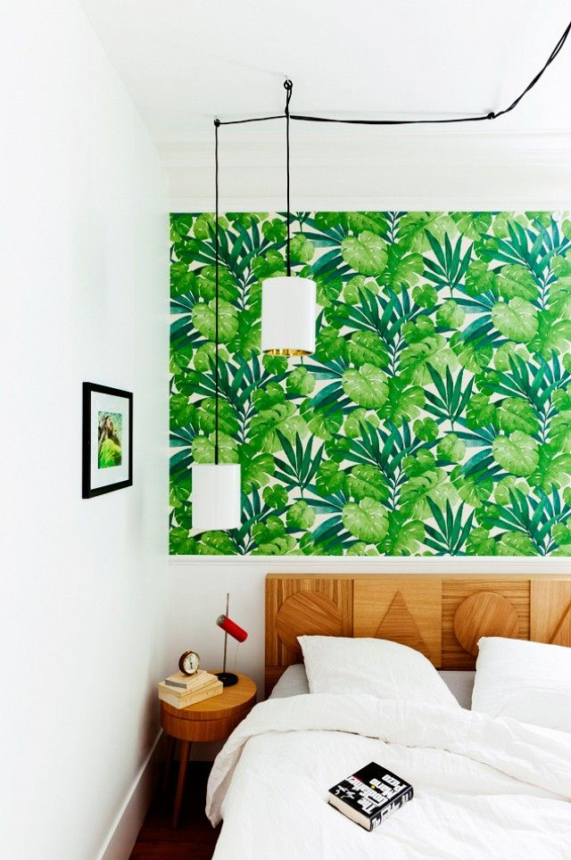 Domaine Home-Botanical Wallpaper