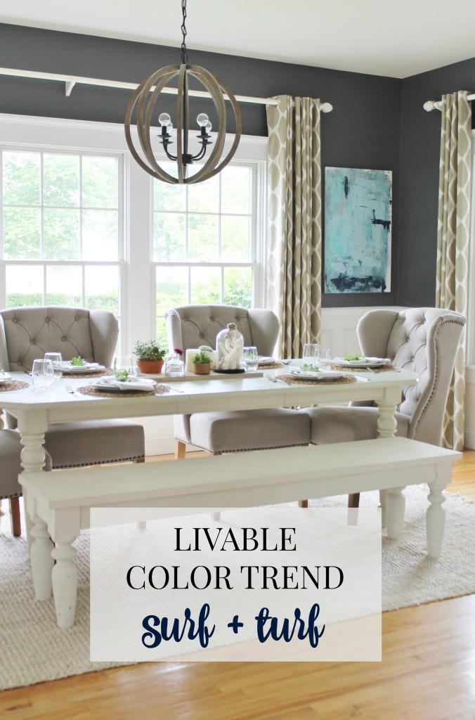 Livable Color Trend Surf + Turf