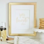 Free Watercolor Love Printable