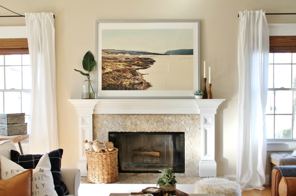 Mantle Styling-Minted Art