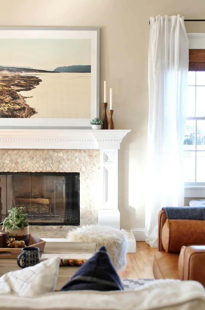 Mantle Styling-using a rich, earthy palette