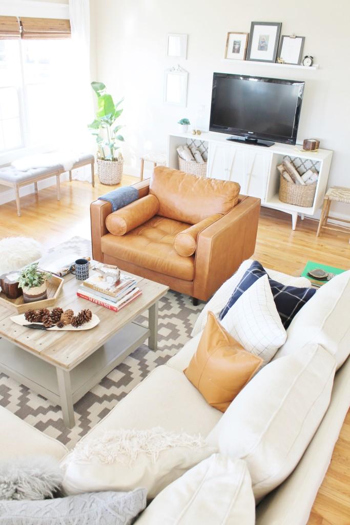 Modern Rustic Family Room