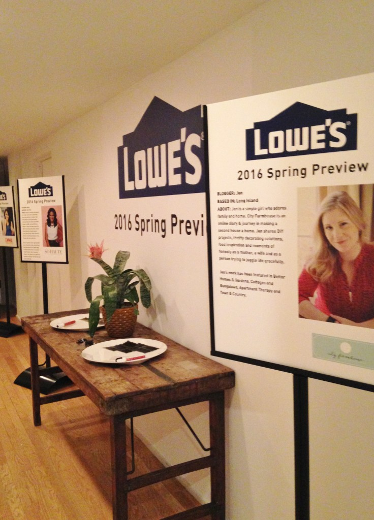 Lowe's Spring Preview-Allen & Roth