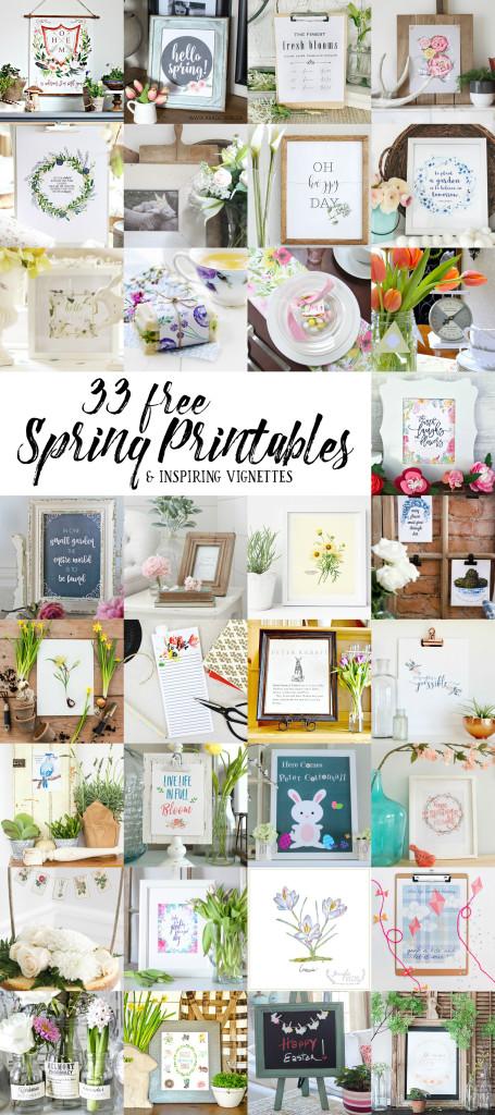 33 free spring printables (1)