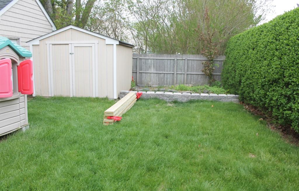 Backyard Before 1