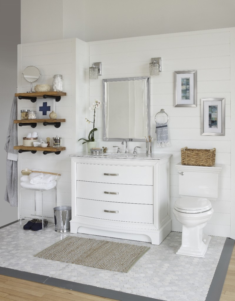 A Modern Rustic Bathroom Reveal - City Farmhouse on Rustic Farmhouse Bathroom  id=36669