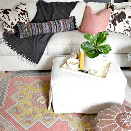 DIY $12 Bohemian Pillow