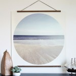 DIY Modern Coastal Art-Using An IPhone Picture
