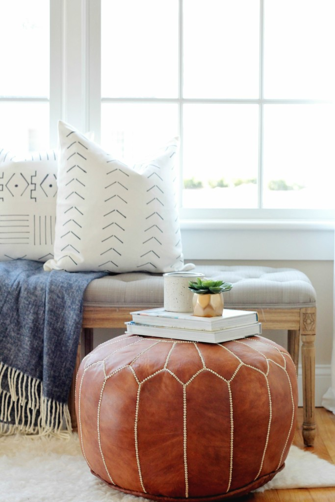 DIY Mudcloth Pillows For Under $6