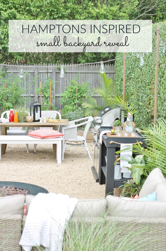 Hamptons Backyard Reveal