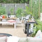 Hamptons Inspired Small Backyard Reveal