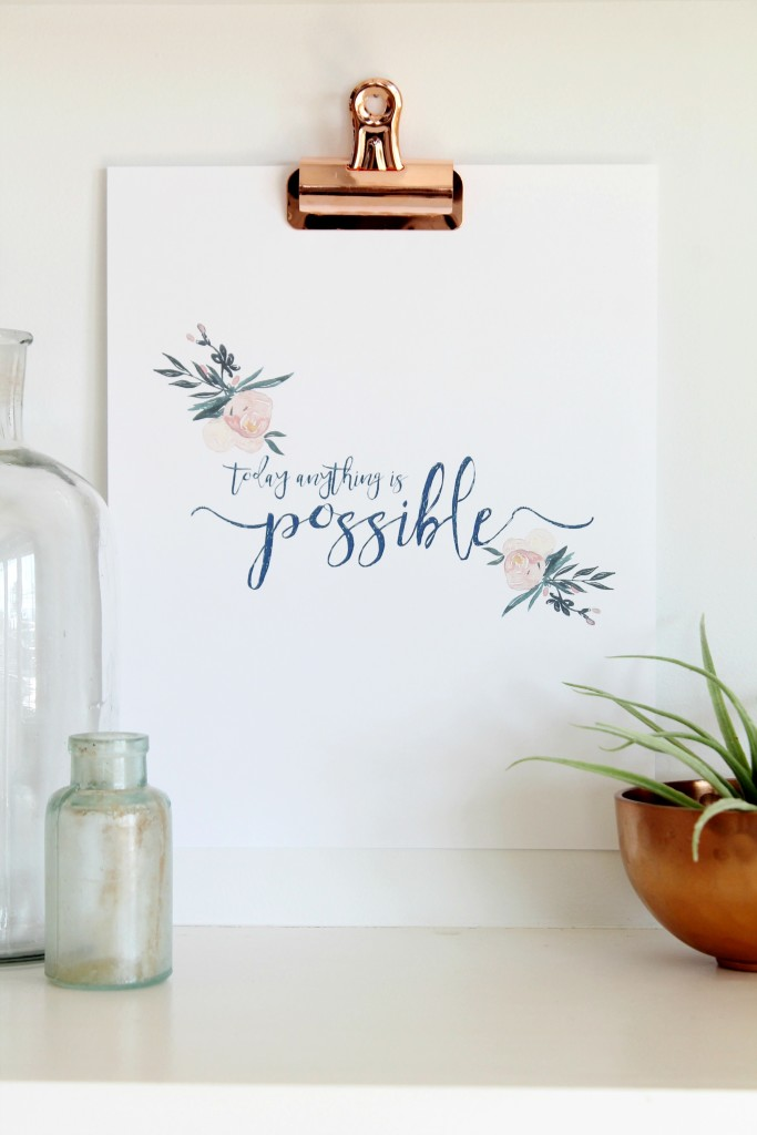 Inspirational Quotes-Free Printable